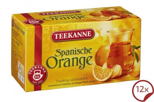 Teekanne Spanische Orange 12 x 20 Beutel