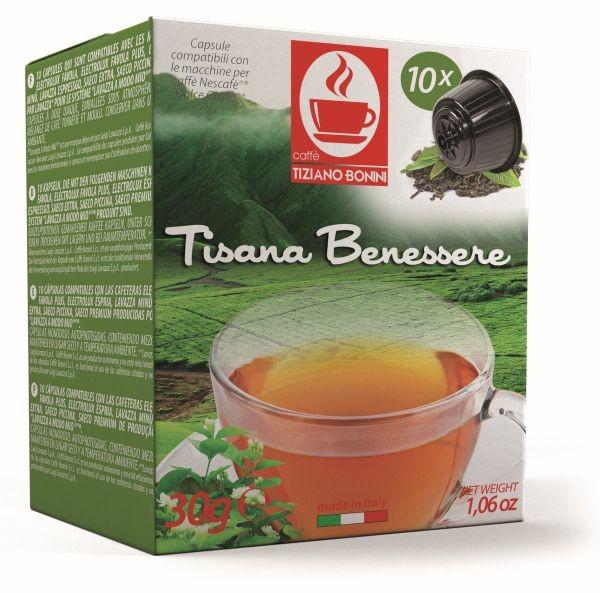Bonini Benessere / Kräutertee - 10 Teekapseln Dolce Gusto ®* **