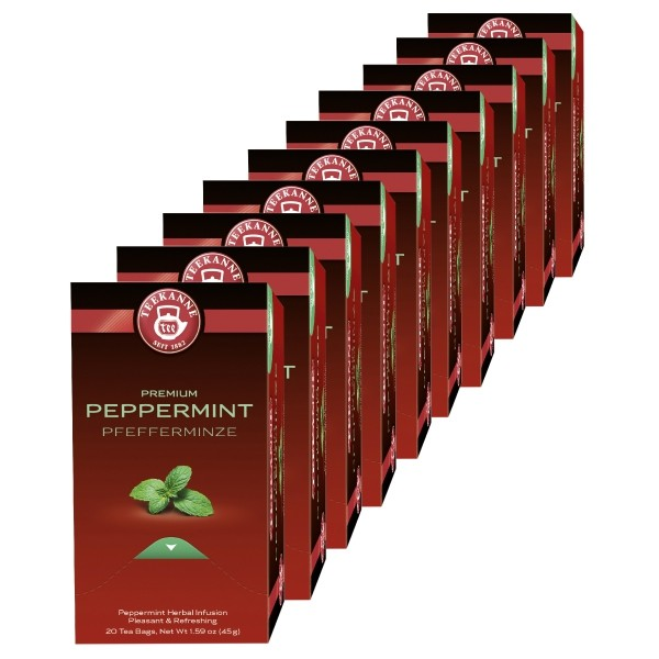 Teekanne Premium Pfefferminze 10 x 20 Beutel