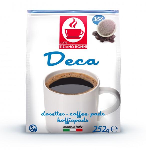 Caffè Bonini Kaffeepads Deca / Entkoffeiniert 36er - MHD: 29.01.2020
