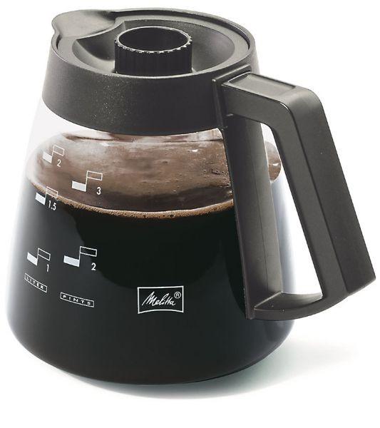 Melitta ® Glaskanne Kaffeekanne 2,2 Liter Ka-G M 220