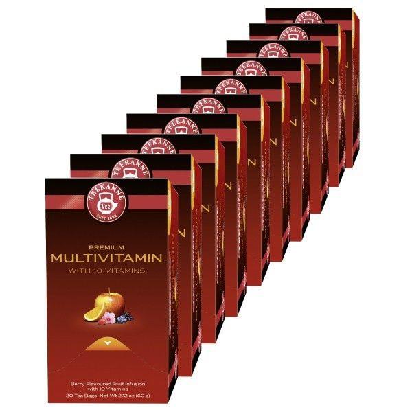 Teekanne Premium Multivitamin - 10 x 20 Beutel