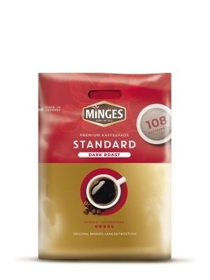 Kaffeepads Minges Dark Roast Standard Megabeutel 108 Pads