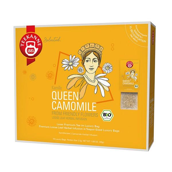 Teekanne Selected Queen Camomile Luxury Bag - 18 Kannenportionen à 2,5 g