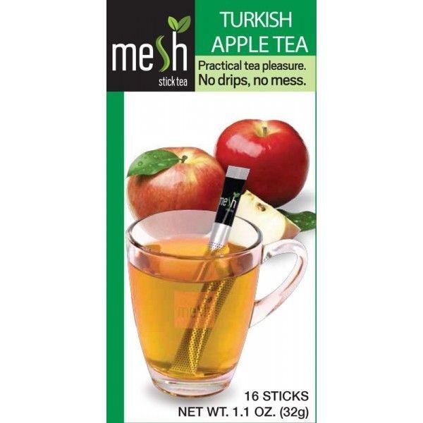 Mesh Tea Sticks Turkish Apple Tea/Türkischer Apfel Tee 16 Stück - MHD: 30.01.2021