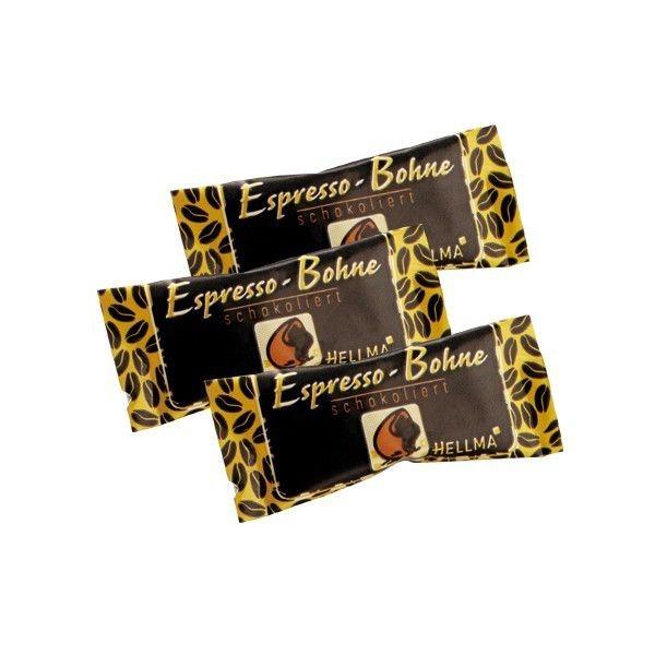 Hellma Espressobohnen in Zartbitterschokolade ca. 380 Stück