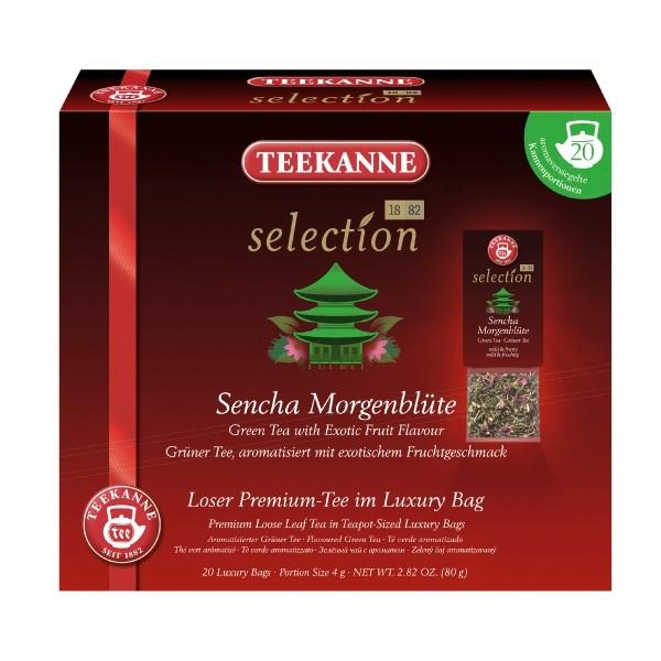 Teekanne Selection Sencha Morgenblüte 20 Kannenportionen