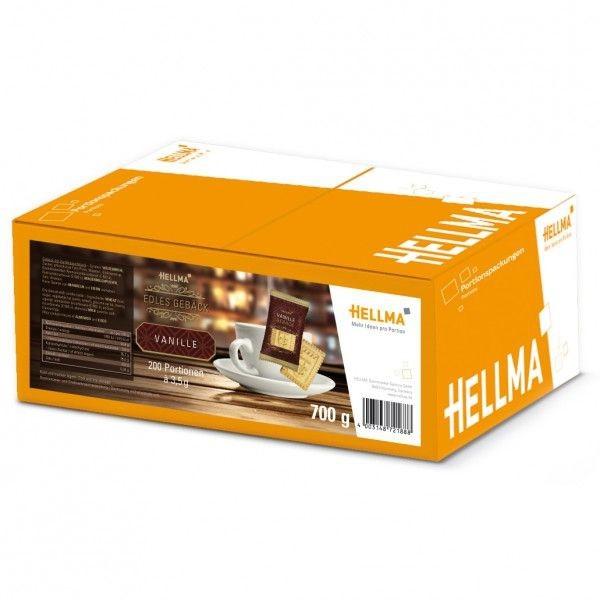 Hellma Edles Vanille-Gebäck 200 x 3,5 g