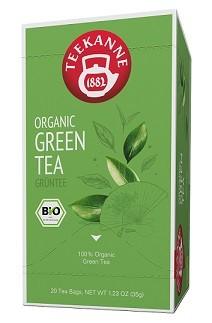 Teekanne PREMIUM ORGANIC GREEN TEA - 20 Teebeuel à 1,75 g