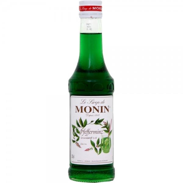 Monin-Sirup Pfefferminz grün