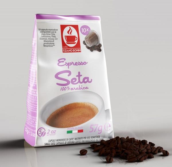 Bonini Nespresso Softpack Seta