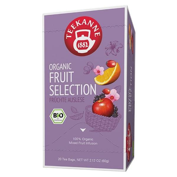 Teekanne PREMIUM ORGANIC FRUIT SELECTION - 20 Teebeuel