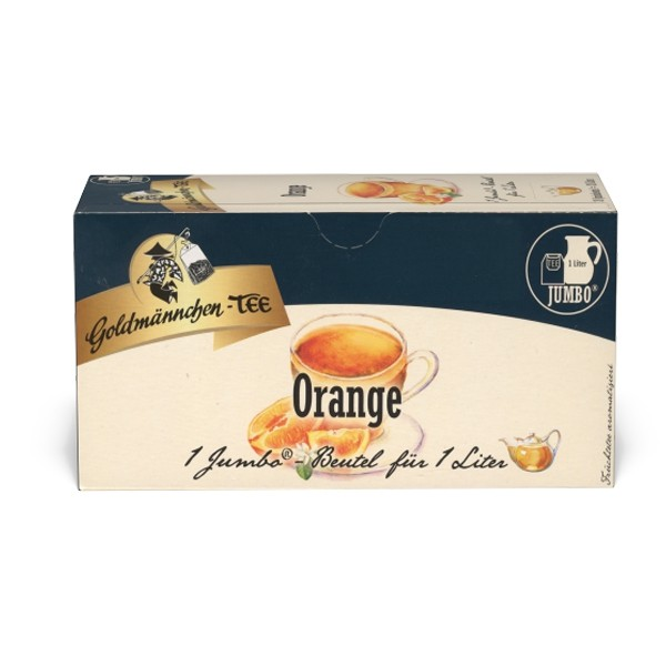 Goldmännchen Tee JUMBO Orange - 20 Beutel