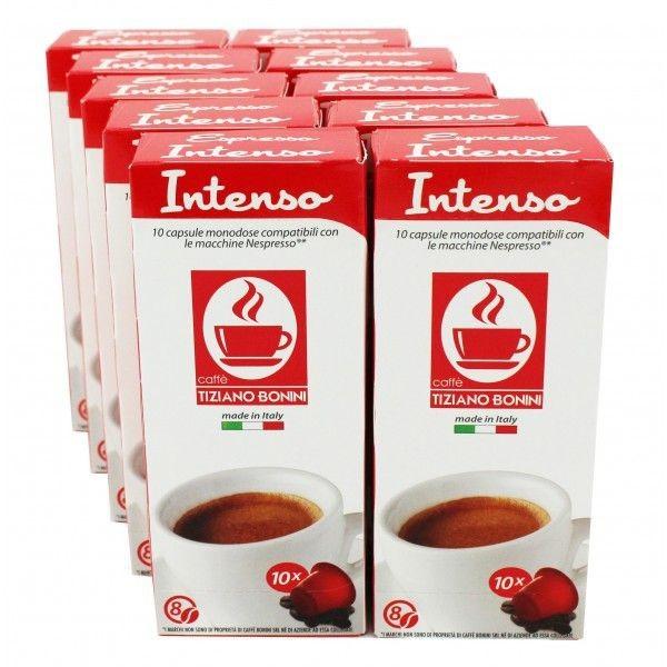 Caffè Bonini Intenso 100 Kompatible Kapseln Nespresso ®*