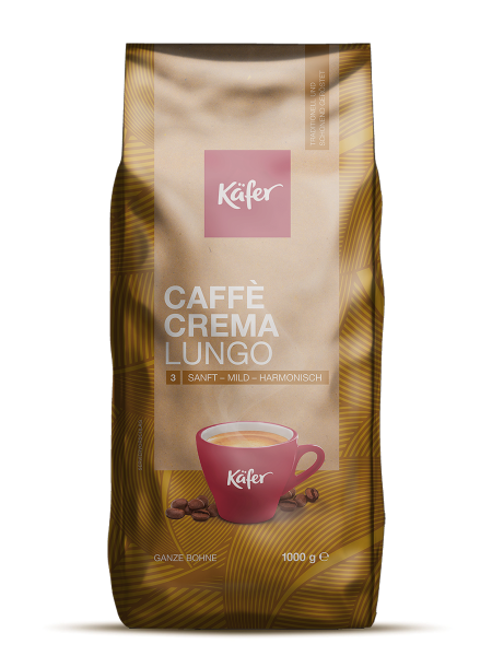 Käfer ganze Bohne - Caffè Crema Lungo - 1 kg