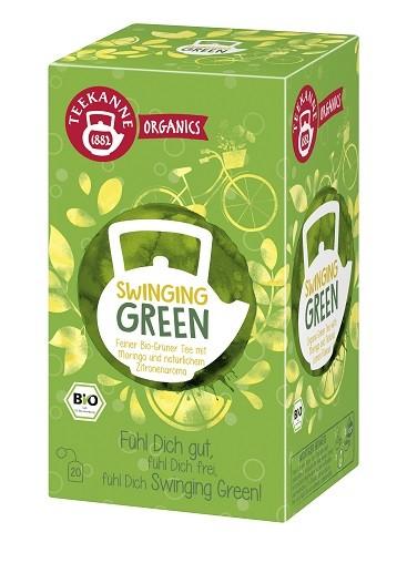 Teekanne Organics Swinging Green - 20 Teebeutel
