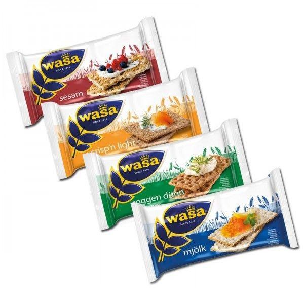 Wasa Knäckebrot Frühstücksbox 40 Stück