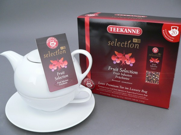 Teekanne TEA FOR ONE-SET - 4-teilig
