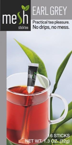 Mesh Tea Sticks Earl Grey Tee 16 Stück - MHD: 30.01.2021