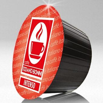 Caffè Bonini INTENSO - 16 Kompatible Kapseln Dolce Gusto ®* - Softpack - MHD: 18.10.2021