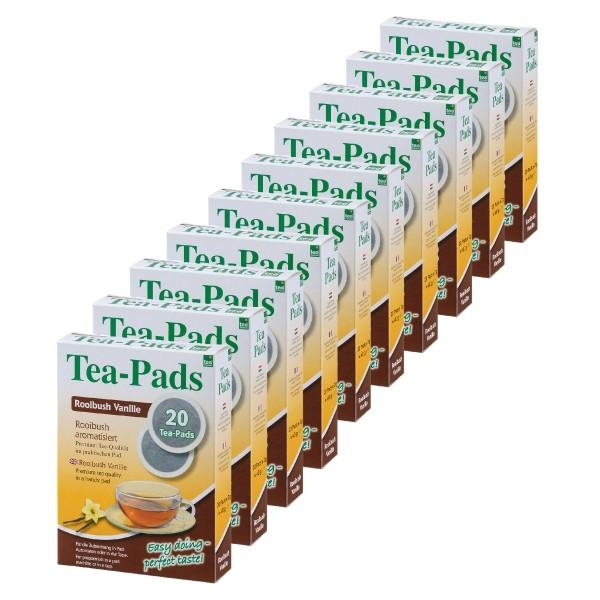 Teepads Tea-Friends Rooibush Vanille 10 x 20 Pads
