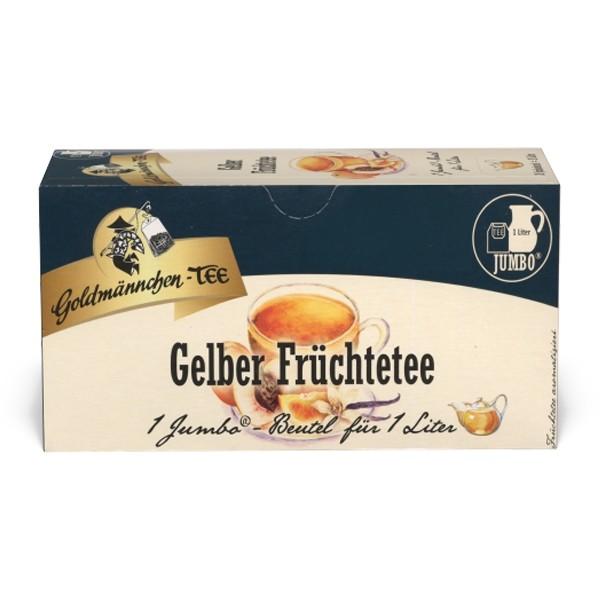 Goldmännchen Tee JUMBO Gelber Früchtetee - 20 Beutel
