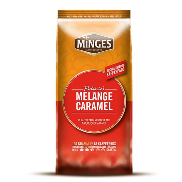 Kaffeepads Padinies Melange Caramel