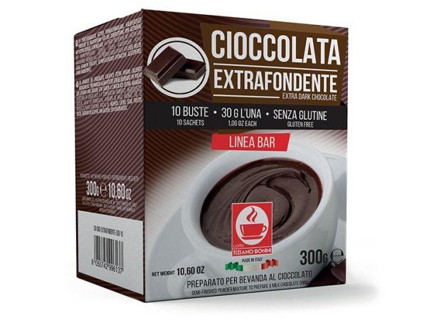 Caffè Bonini Cioccolata Extrafondente 10 Beutel - MHD: 01.09.2020