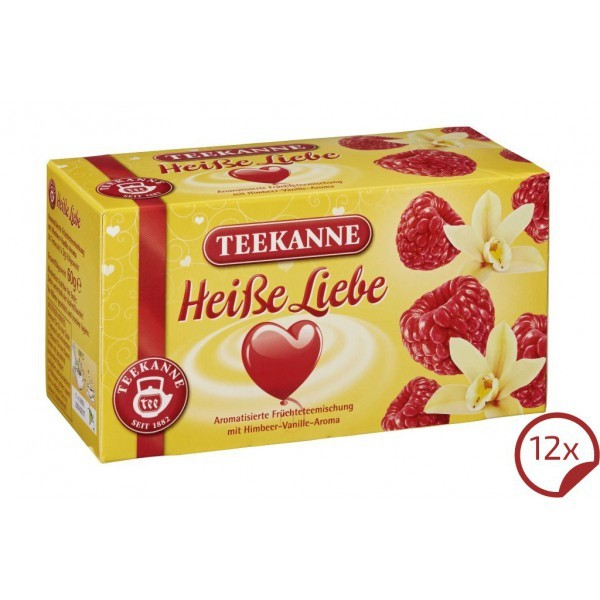 Teekanne Heiße Liebe 12 x 20 Beutel