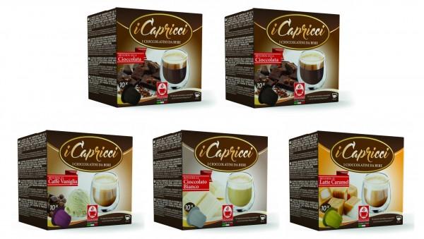 Bonini iCapricci Probierset - 5 Sorten Nespresso ®*- kompatibel