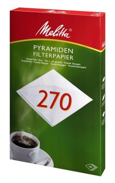 Melitta® Filtertüten 270 (Pa SF 270 G), 100 Stück