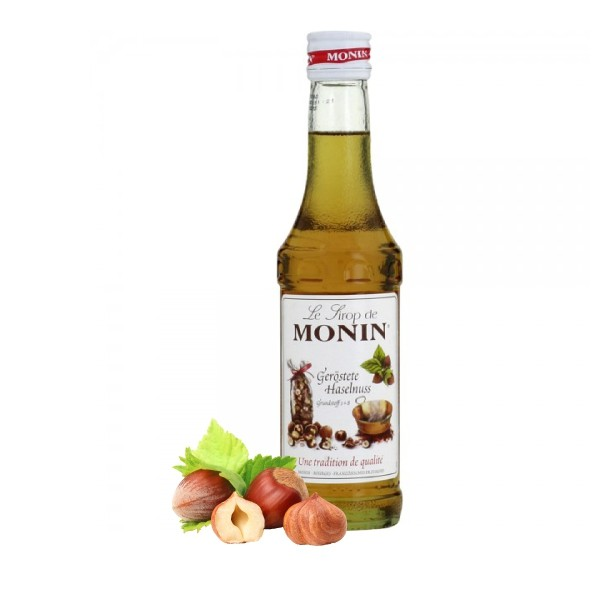 Monin-Sirup Geröstete Haselnuss - SONDERPREIS (MHD: 31.08.2019)