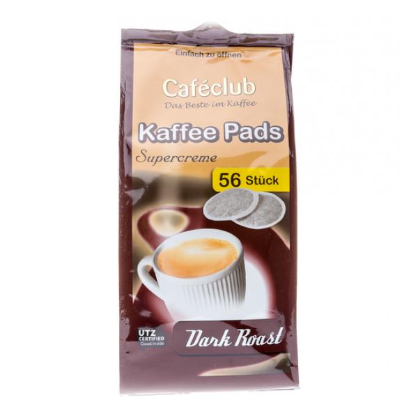 Kaffeepads Caféclub DARK ROAST 56 Pads