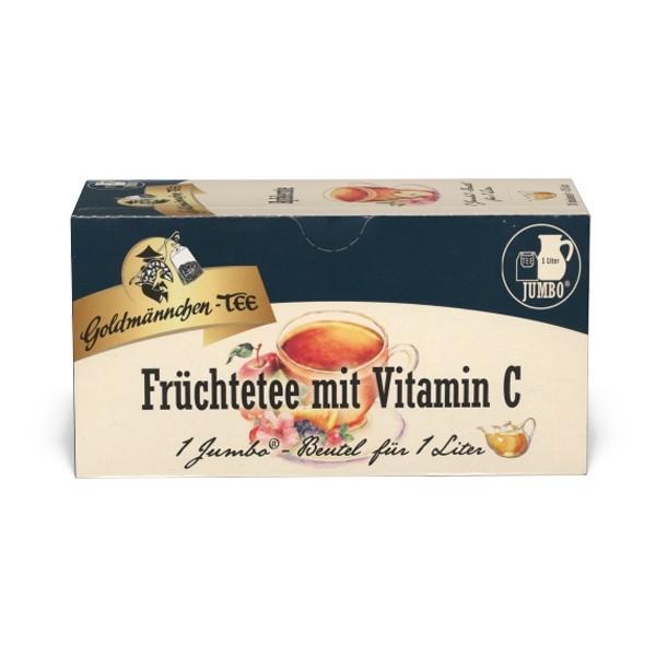 Goldmännchen Tee JUMBO Früchtetee mit Vitamin C - 20 Beutel