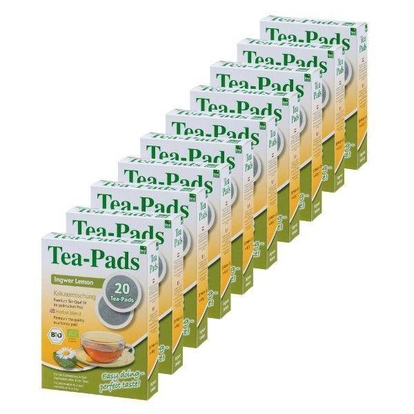 Teepads Tea-Friends BIO Ingwer Lemon 10 x 20 Pads