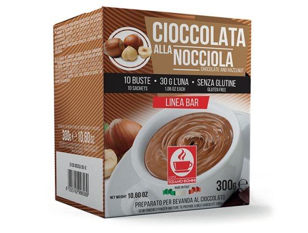 Caffè Bonini Cioccolata Alla Nocciola 10 Beutel - MHD 01.11.2020