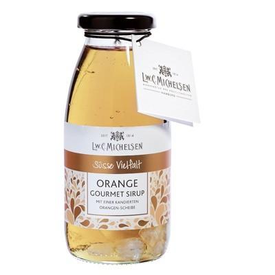 Michelsen Gourmet-Sirup: Orange mit Orangenscheibe