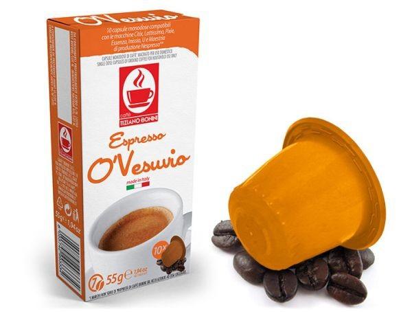 Caffè Bonini O´Vesuvio Kompatible Kapseln Nespresso ®* **