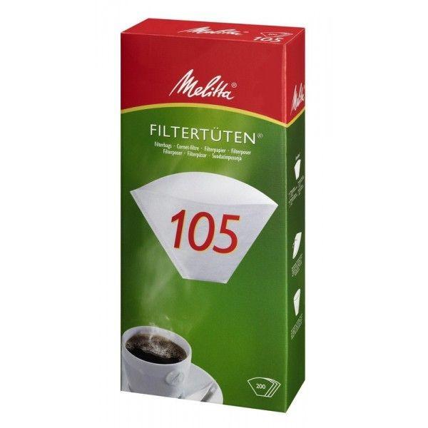 Melitta® Filtertüten 105, 200 Stück