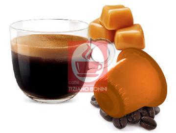 Caffè Bonini Caffè al CARAMELLO / Karamell - 10 Nespresso ®*-kompatible Kapseln