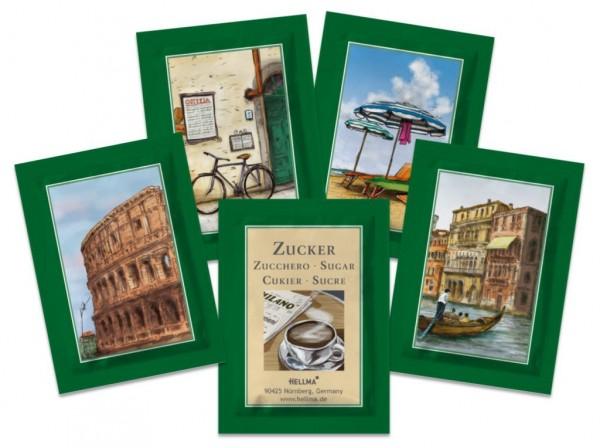 Hellma Zuckersachets ITALIEN - 2000 x 3,6 g **