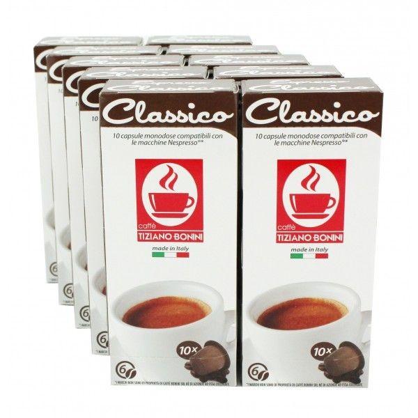 Caffè Bonini CLASSICO - 100 Kompatible Kapseln Nespresso ®*