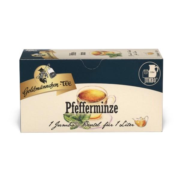 Goldmännchen Tee JUMBO Pfefferminze - 20 Beutel