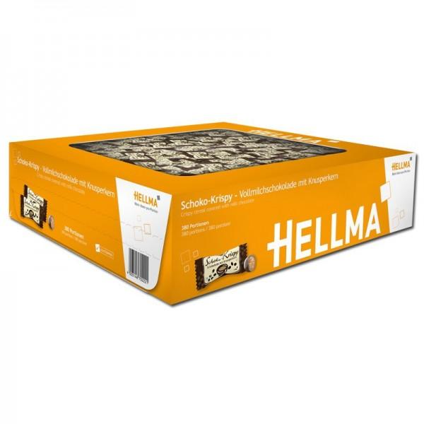 Hellma Schoko-Krispy ca. 380 Stück