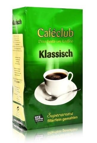 Filterkaffee Caféclub Klassisch 500g gemahlen