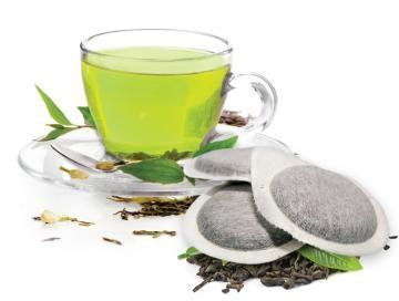 Bonini Tee - 50 ESE Pads Tè Verde / Grüner Tee