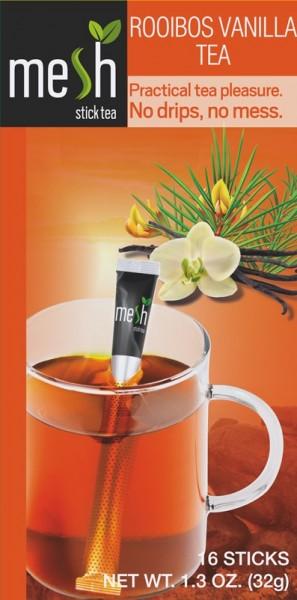 Mesh Tea Sticks Rooibos Vanilla Tee 16 Stück