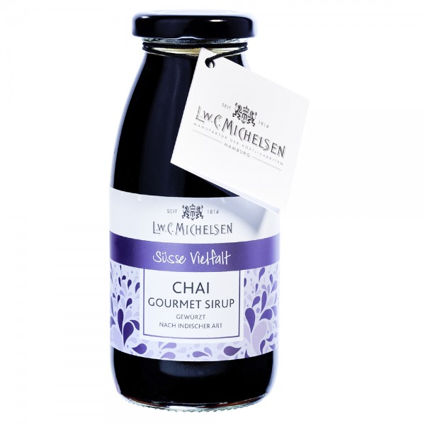 Michelsen Gourmet-Sirup: Chai-Indian-Spicy - MHD: 01.06.2020