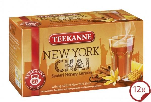 Teekanne New York Chai 12 x 20 Beutel
