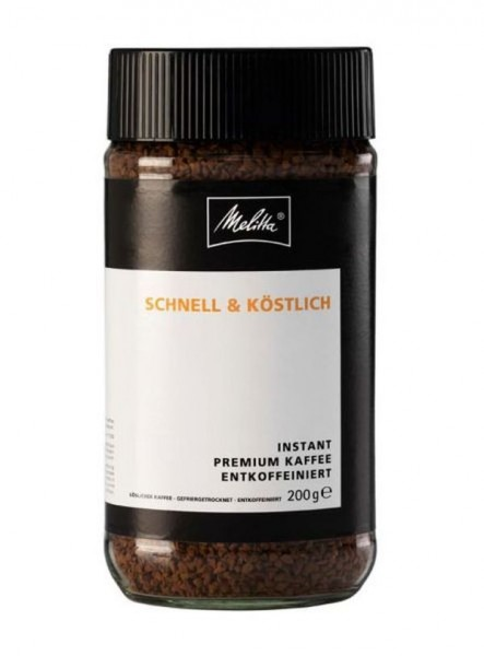 Melitta ® Instant Kaffee Gold Entkoffeiniert 200 g